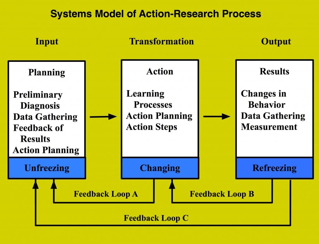 Systems Model of Action-Research Process