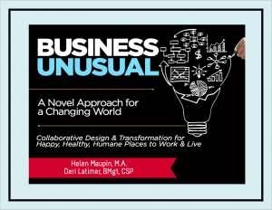 Book Cover: Business Unusual — A Novel Approach for a Changing World
