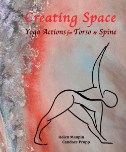 Book Cover: Yoga Actions for Torso & Spine