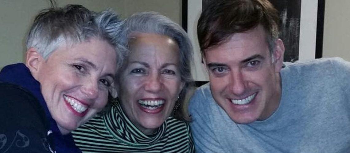 Kiki, Helen, Doug Xmas 2018